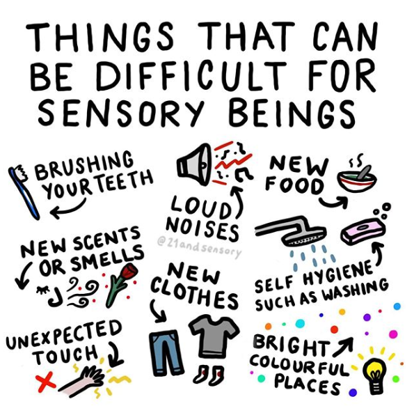 Things That Sensory Products Help With